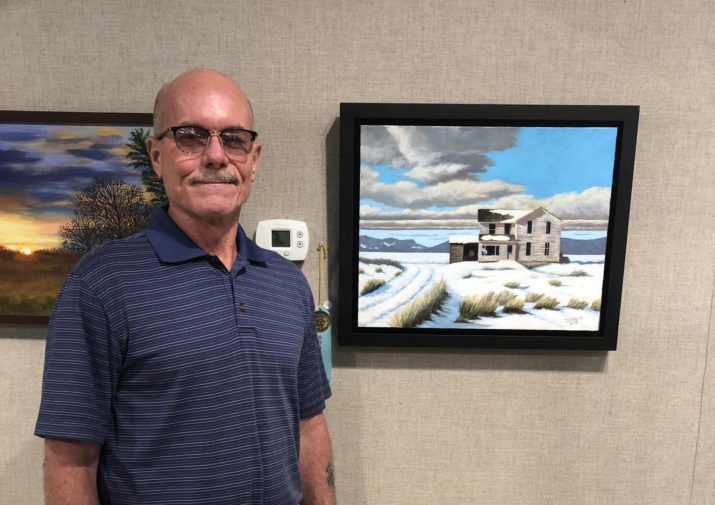 Congratulations to Partner Artist David Gibson